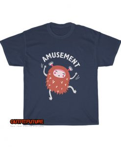 Amusement-cute-monster-T-Shirt EL24D0