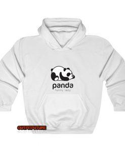 Panda bear silhouette Hoodie EL13D0