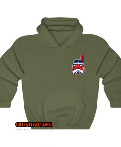 The chief will whit mask Hoodie EL18D0