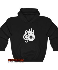 music-and-dvd-illustration-Hoodie EL24D0