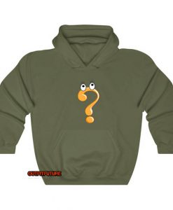 question mark symbol Hoodie ED25JN1