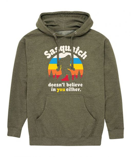 Heather Olive Pullover Hoodie FA23F1