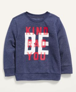 Be Kind Red You Sweatshirt IM4M1