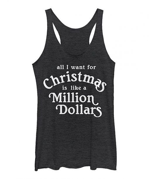 All I Want For Christmas Tanktop AL30A1