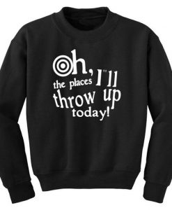 Oh The Places Sweatshirt SD12A1