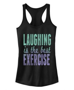 Laughing Exercise Tank Top SR7M1